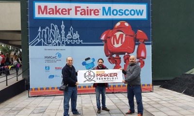 Adana Maker Teknoloji Moskova'daki Maker Faire Etkinliğine Katıldı.