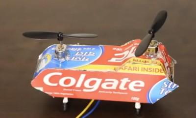 Kartondan Helikopter Yapımı