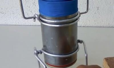 Mum Ateşinden Motor Yapımı