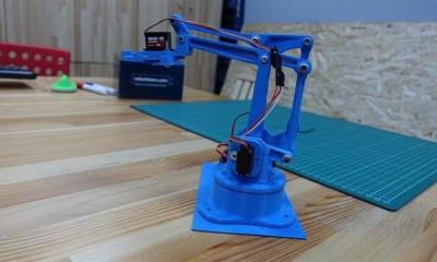 3 Boyutlu Akıllı Arduino Robot Kol Yapımı