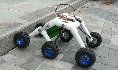 Merdiven Çıkan Robot