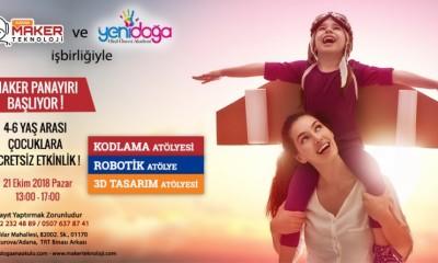 Adana Ücretsiz Maker Panayırı
