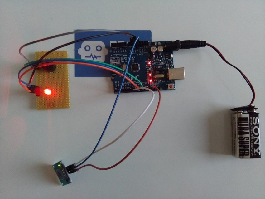 Dokunmatik Sensör İle Led Yakımı