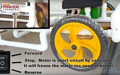 Su Borusundan Akülü Çocuk Arabası Yapımı